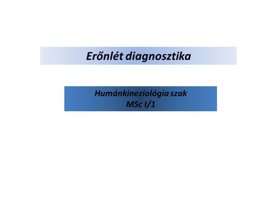 Humánkineziológia szak