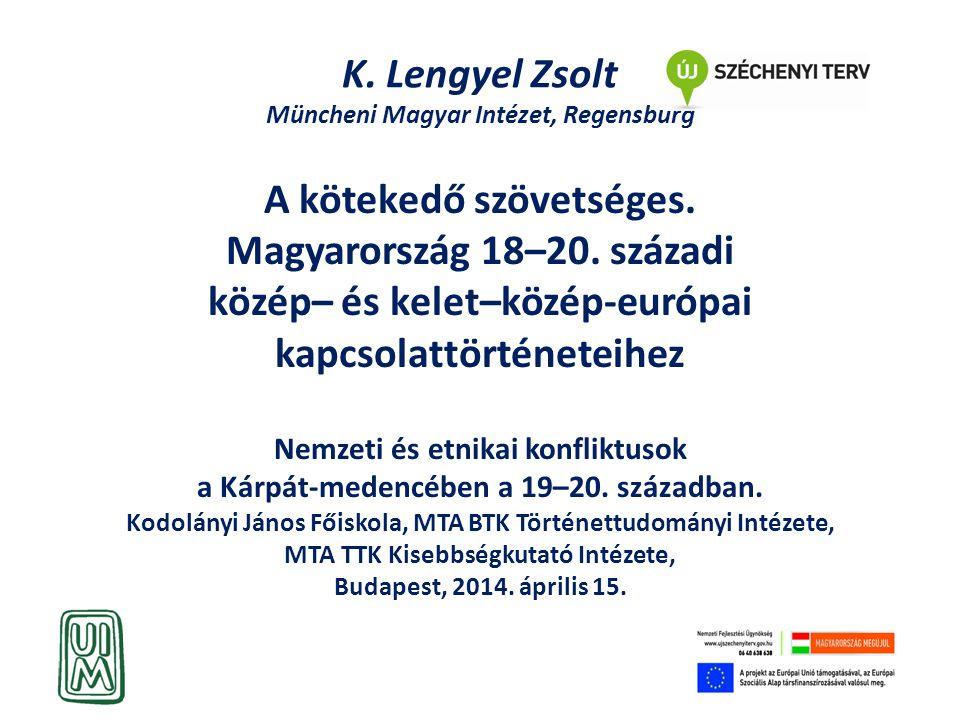 K. Lengyel Zsolt Müncheni Magyar Intézet, Regensburg