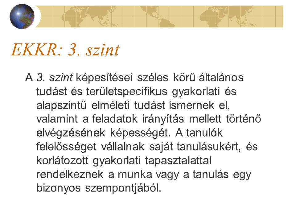 EKKR: 3. szint