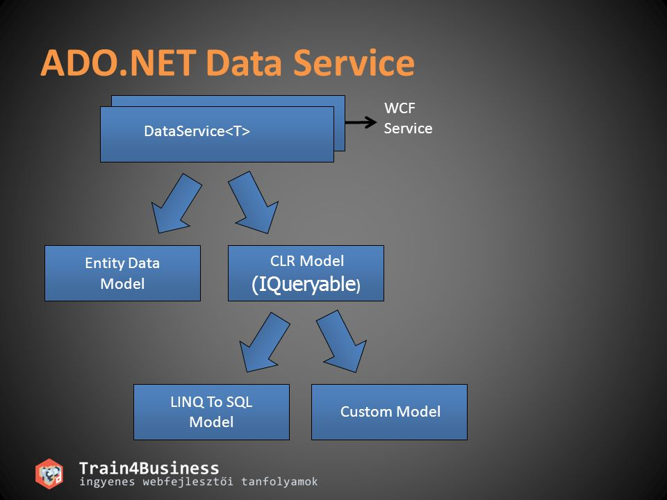 ADO.NET Data Service (IQueryable) WCF Service DataService<T>