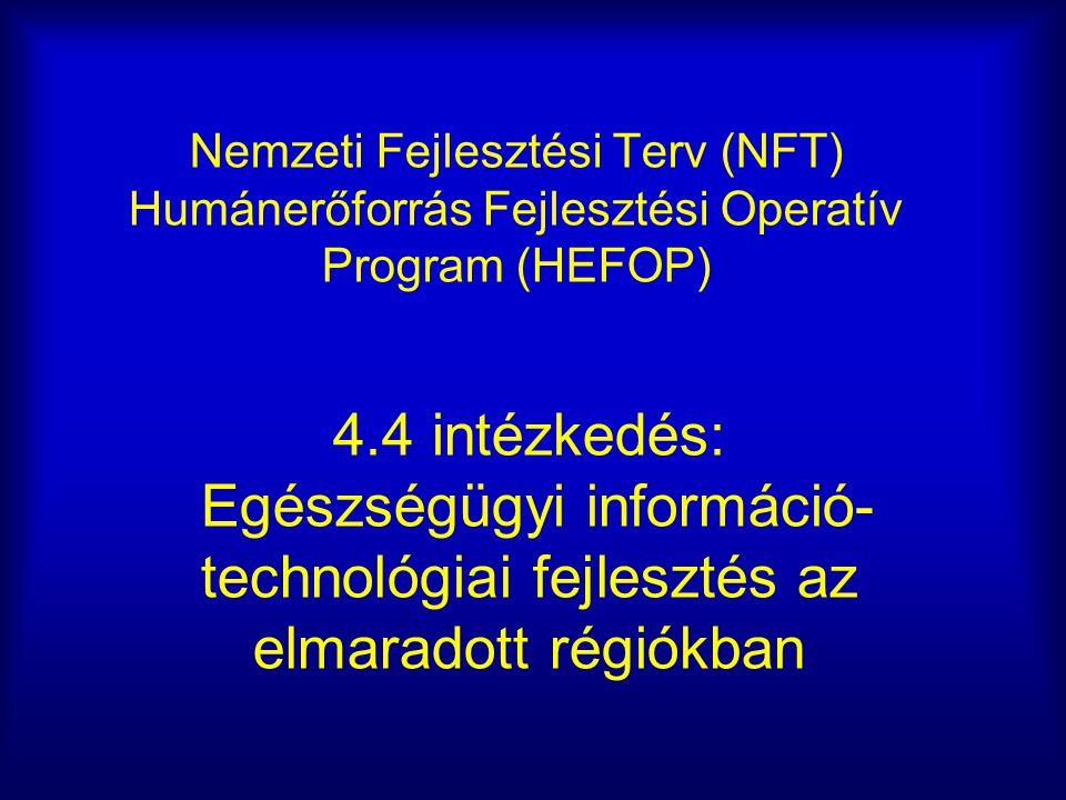 Nemzeti Fejlesztési Terv (NFT) Humánerőforrás Fejlesztési Operatív Program (HEFOP)