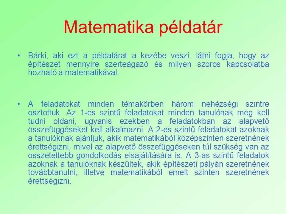 Matematika példatár