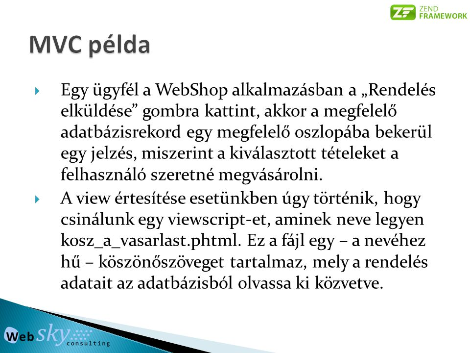 MVC példa