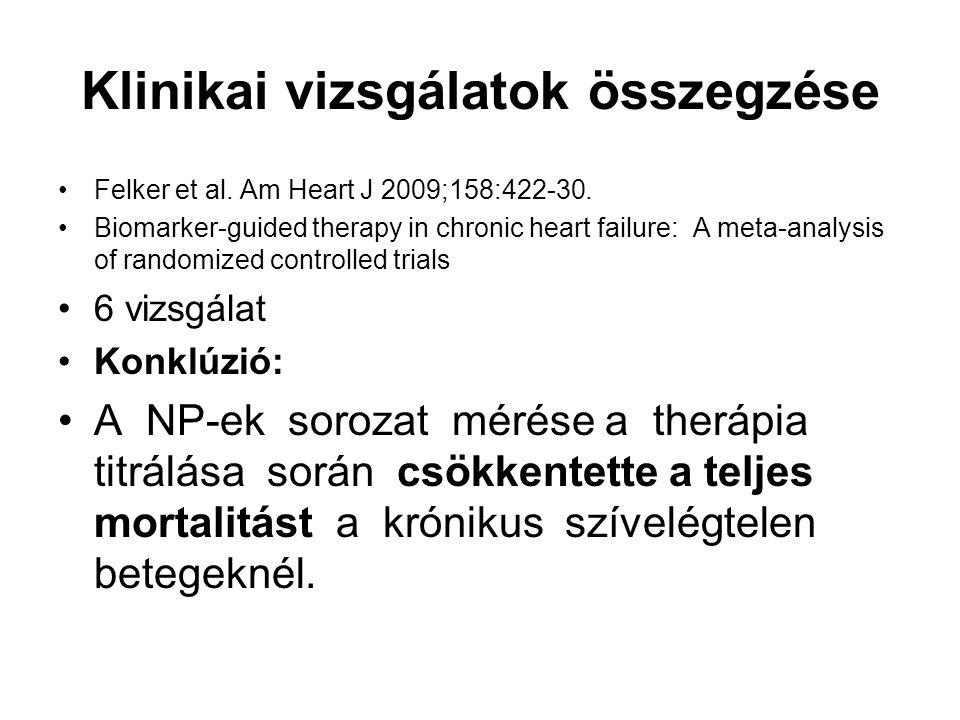 Klinikai vizsgálatok összegzése