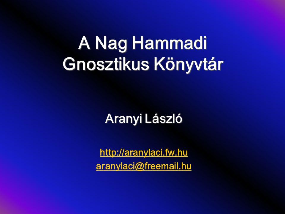 A Nag Hammadi Gnosztikus Könyvtár
