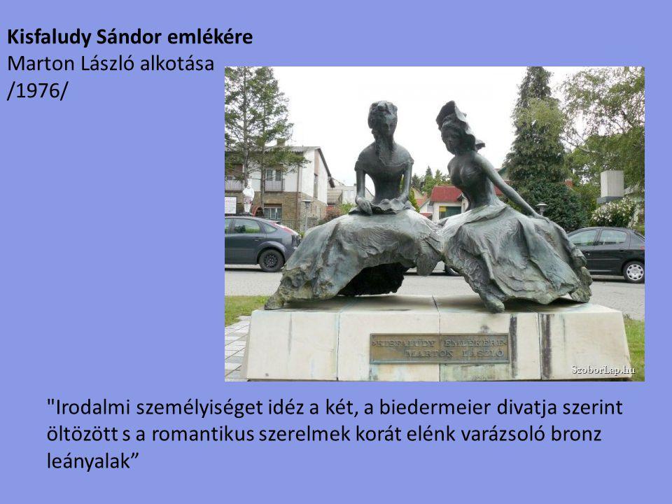 Kisfaludy Sándor emlékére