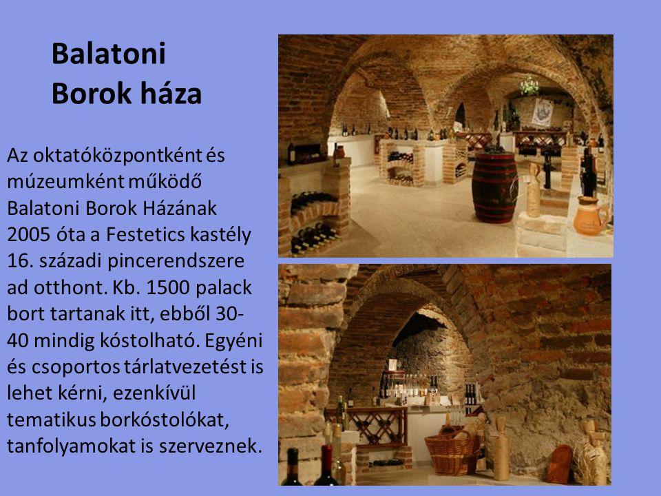 Balatoni Borok háza.