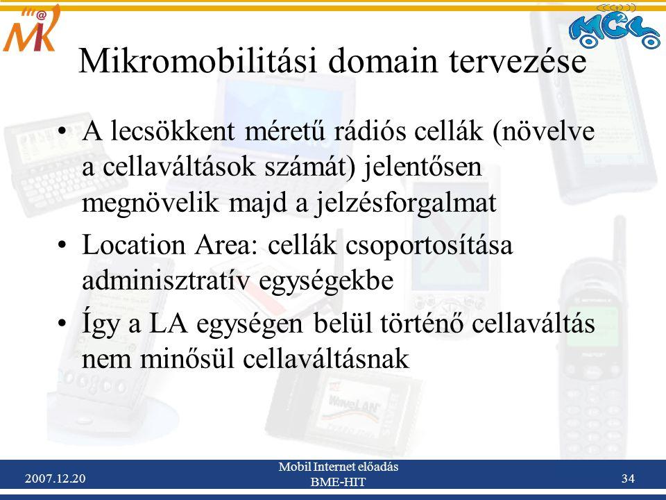 Mikromobilitási domain tervezése