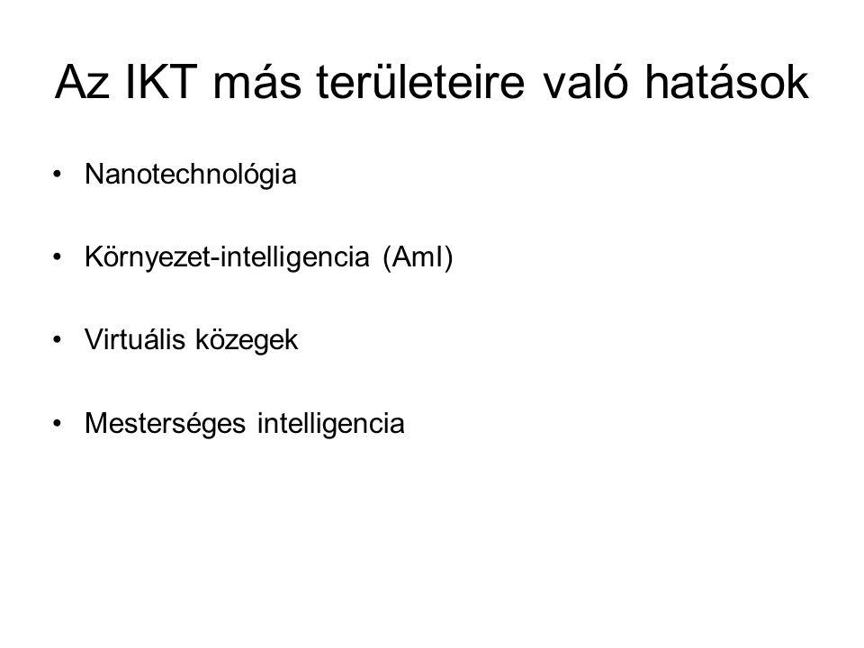 Az IKT más területeire való hatások