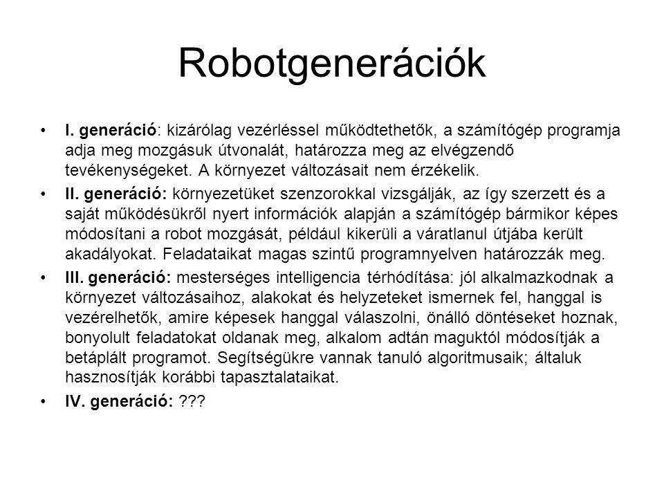 Robotgenerációk