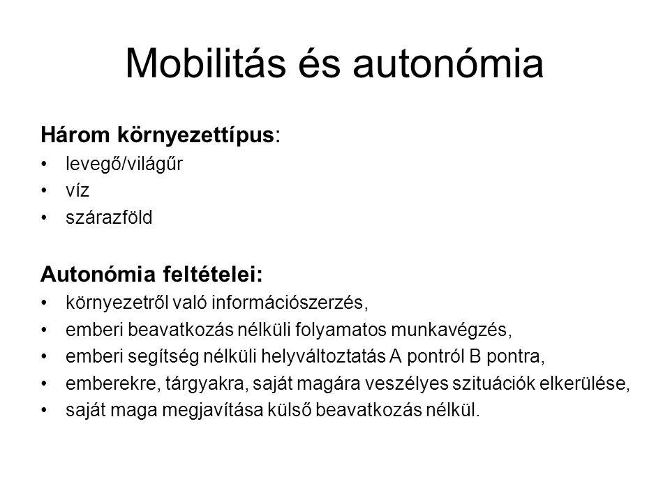 Mobilitás és autonómia