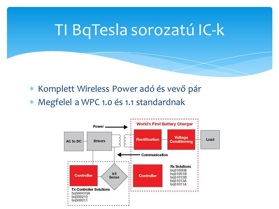 TI BqTesla sorozatú IC-k