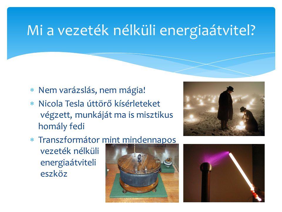 Mi a vezeték nélküli energiaátvitel
