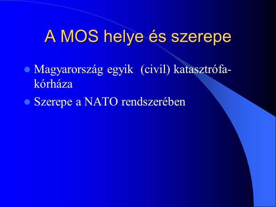 A MOS helye és szerepe Magyarország egyik (civil) katasztrófa-kórháza