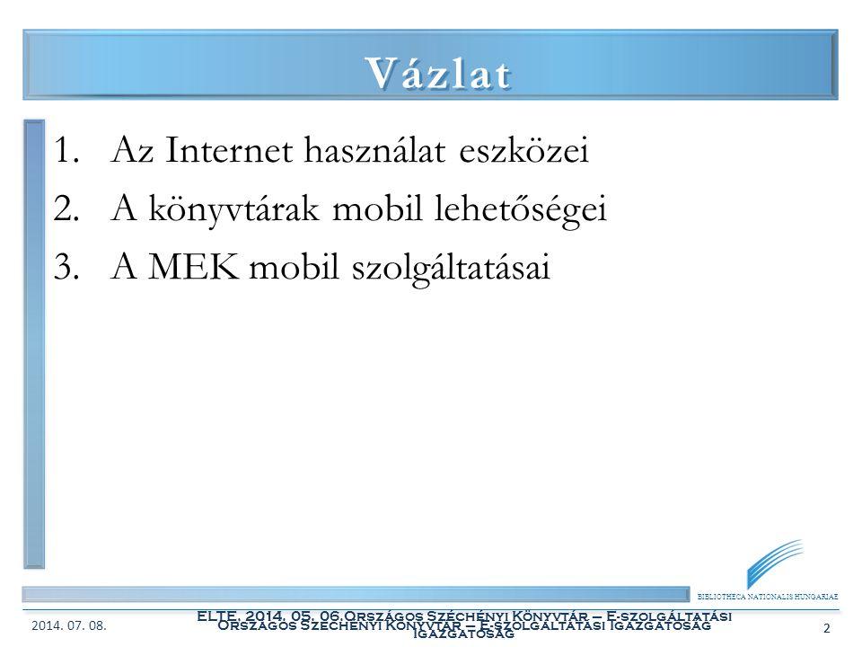 Országos Széchényi Könyvtár – E-szolgáltatási Igazgatóság