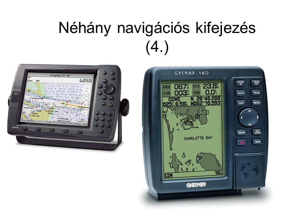 Néhány navigációs kifejezés (4.)