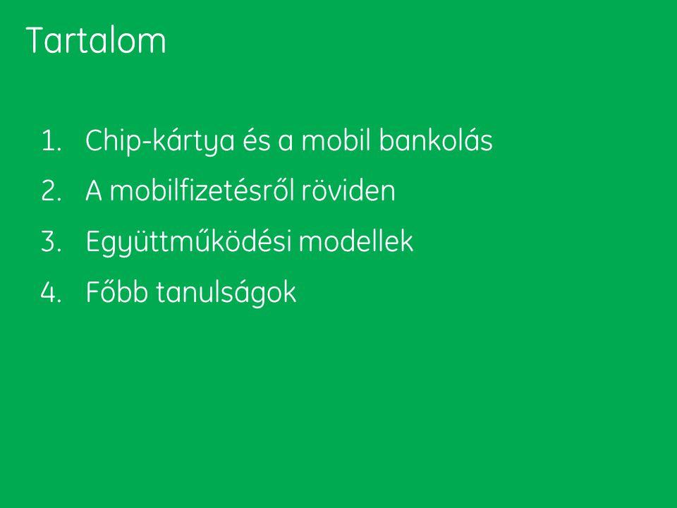 Tartalom Chip-kártya és a mobil bankolás A mobilfizetésről röviden