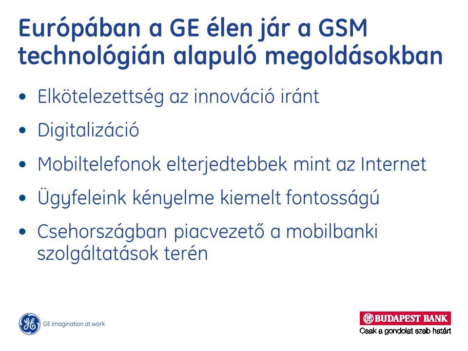 Európában a GE élen jár a GSM technológián alapuló megoldásokban