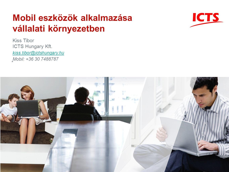 Mobil eszközök alkalmazása vállalati környezetben