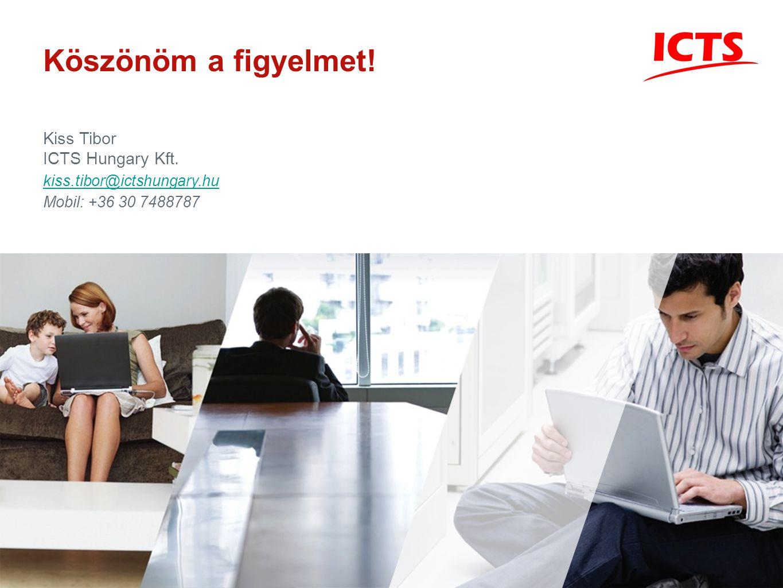 Köszönöm a figyelmet! Kiss Tibor ICTS Hungary Kft.
