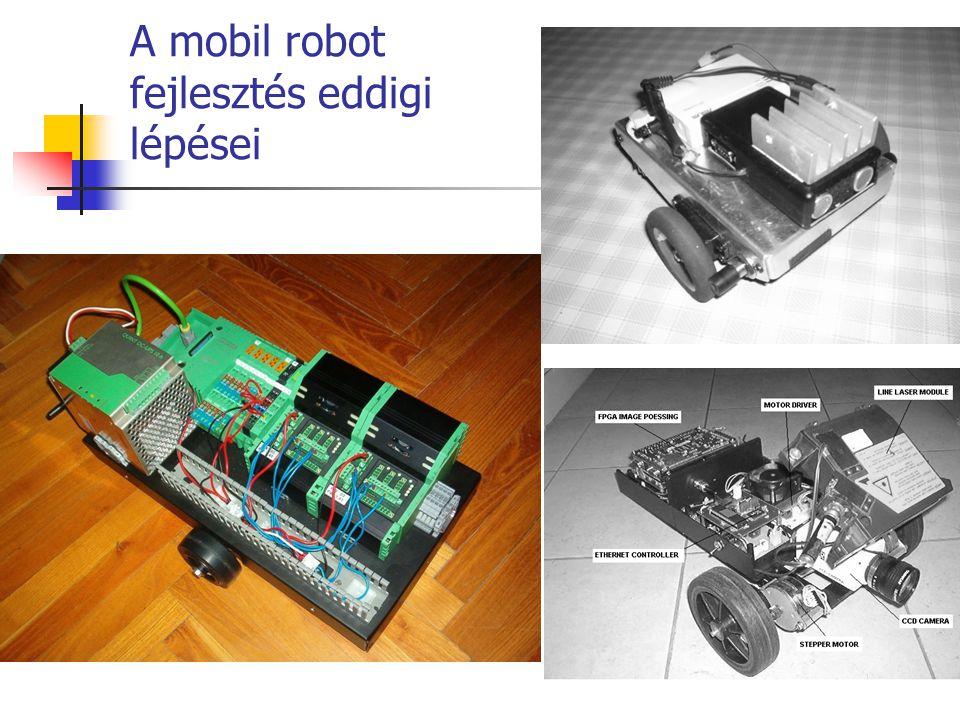 A mobil robot fejlesztés eddigi lépései
