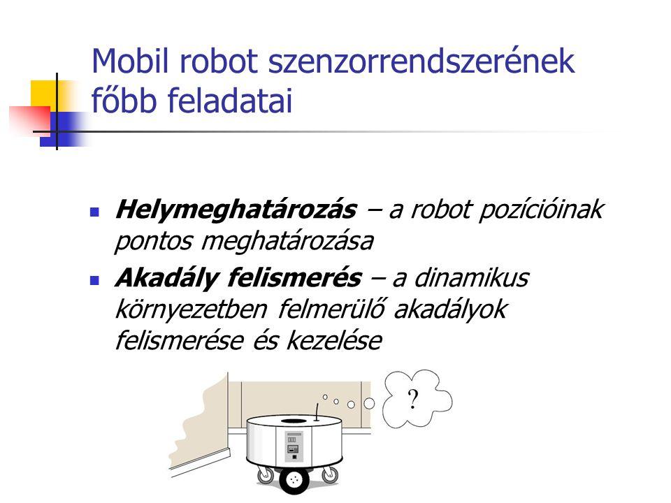 Mobil robot szenzorrendszerének főbb feladatai