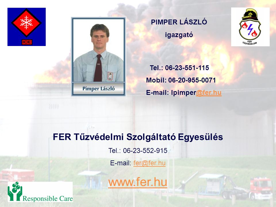 FER Tűzvédelmi Szolgáltató Egyesülés