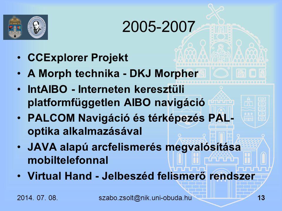 2005-2007 CCExplorer Projekt A Morph technika - DKJ Morpher