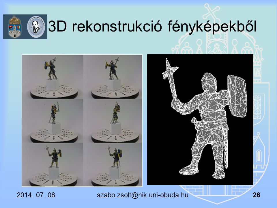 3D rekonstrukció fényképekből
