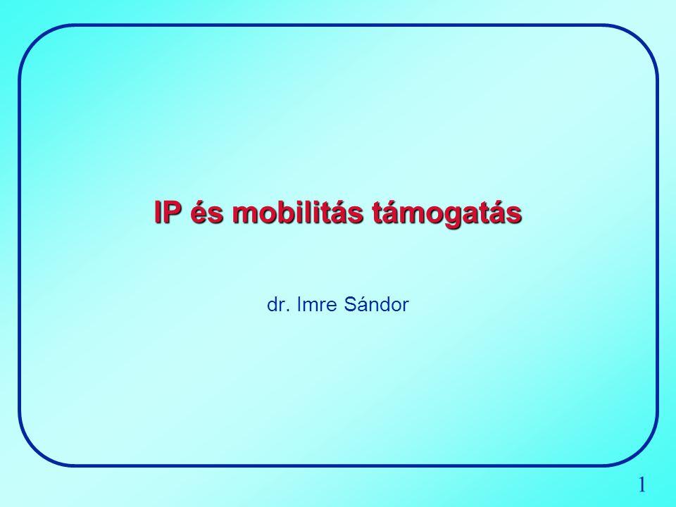 IP és mobilitás támogatás