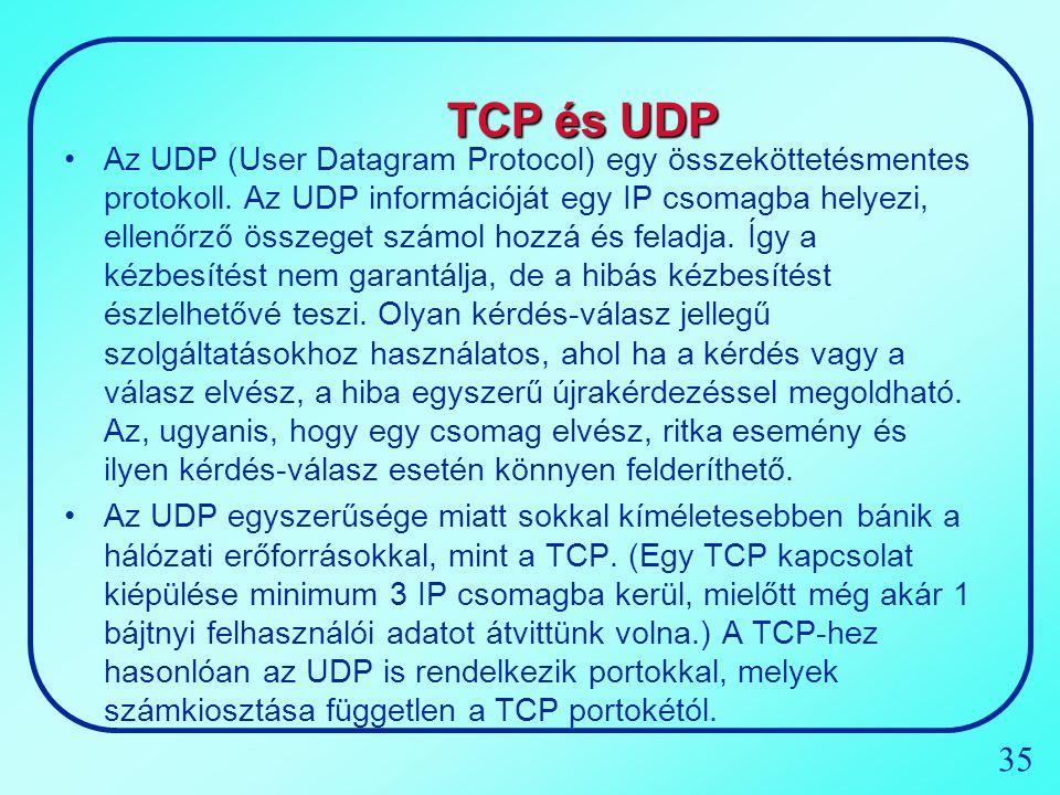 TCP és UDP
