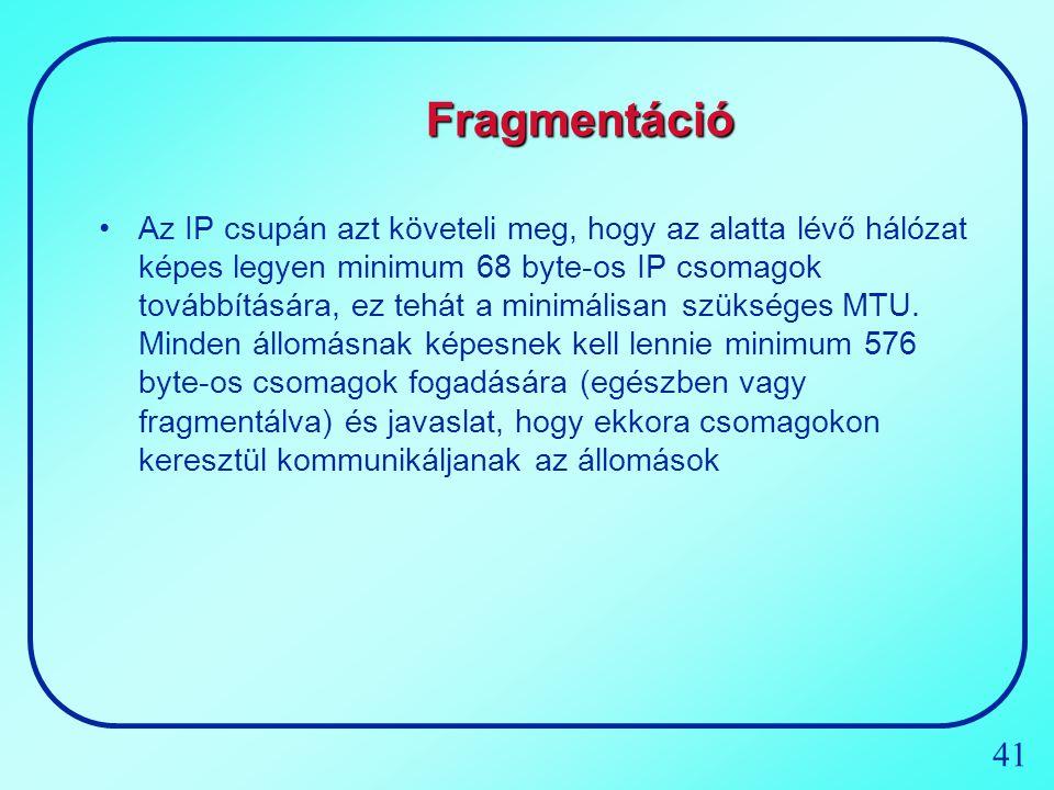 Fragmentáció
