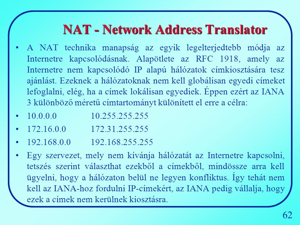 NAT - Network Address Translator