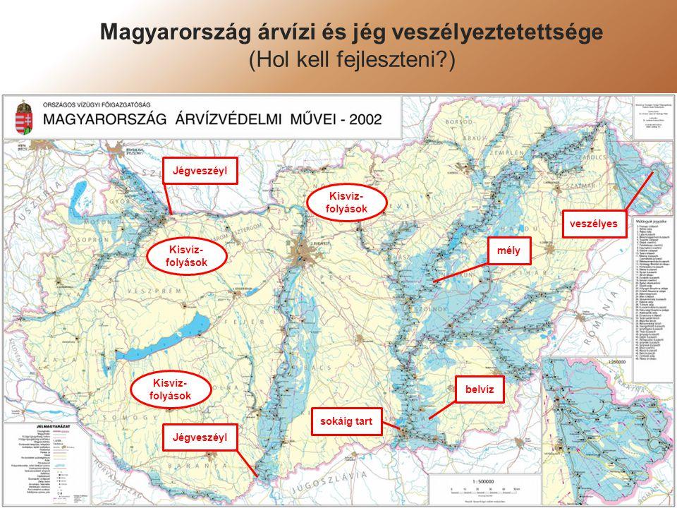 Magyarország árvízi és jég veszélyeztetettsége