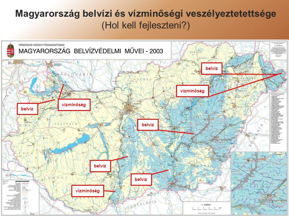Magyarország belvízi és vízminőségi veszélyeztetettsége