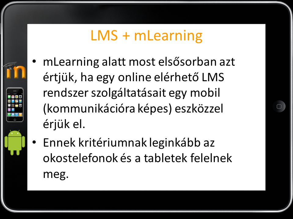 LMS + mLearning