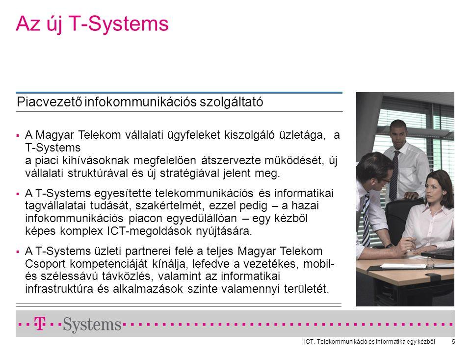 Az új T-Systems Piacvezető infokommunikációs szolgáltató