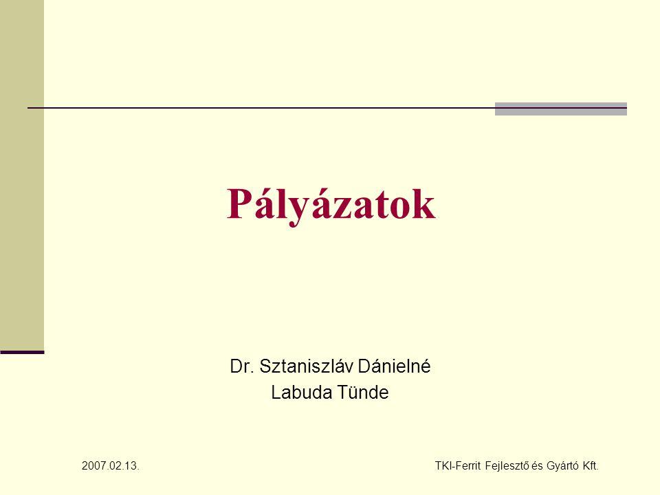 Dr. Sztaniszláv Dánielné Labuda Tünde