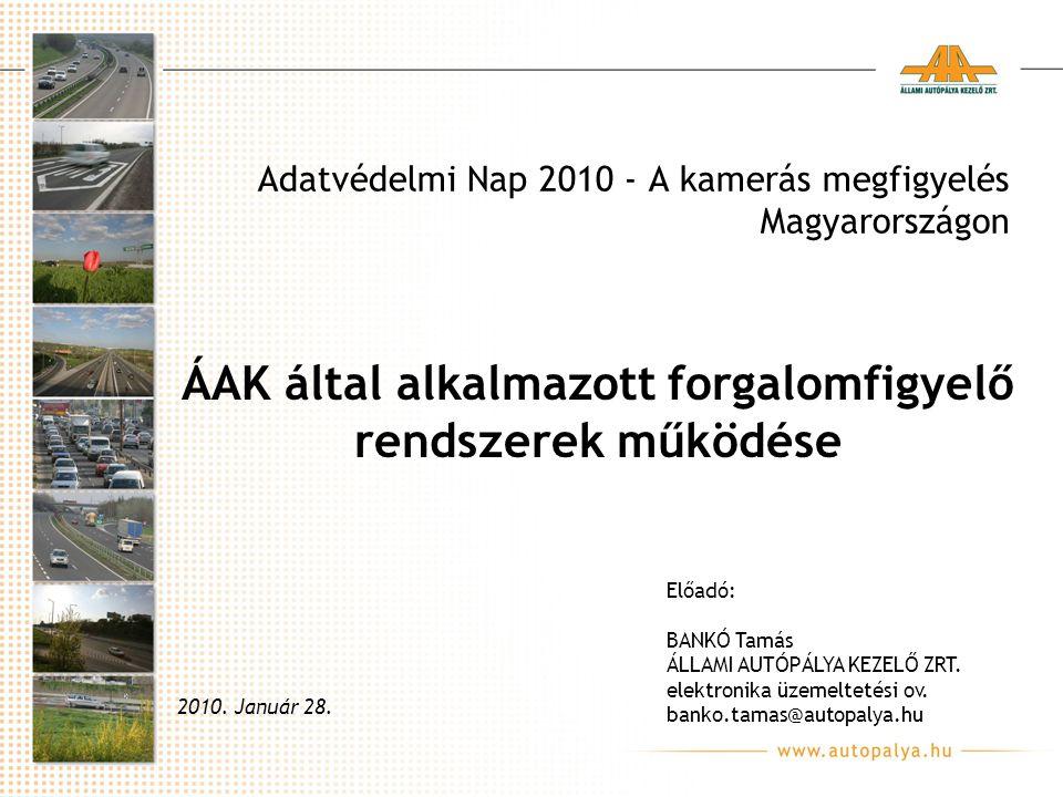 Adatvédelmi Nap 2010 - A kamerás megfigyelés Magyarországon