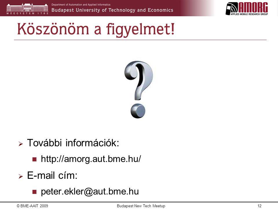 Budapest New Tech Meetup