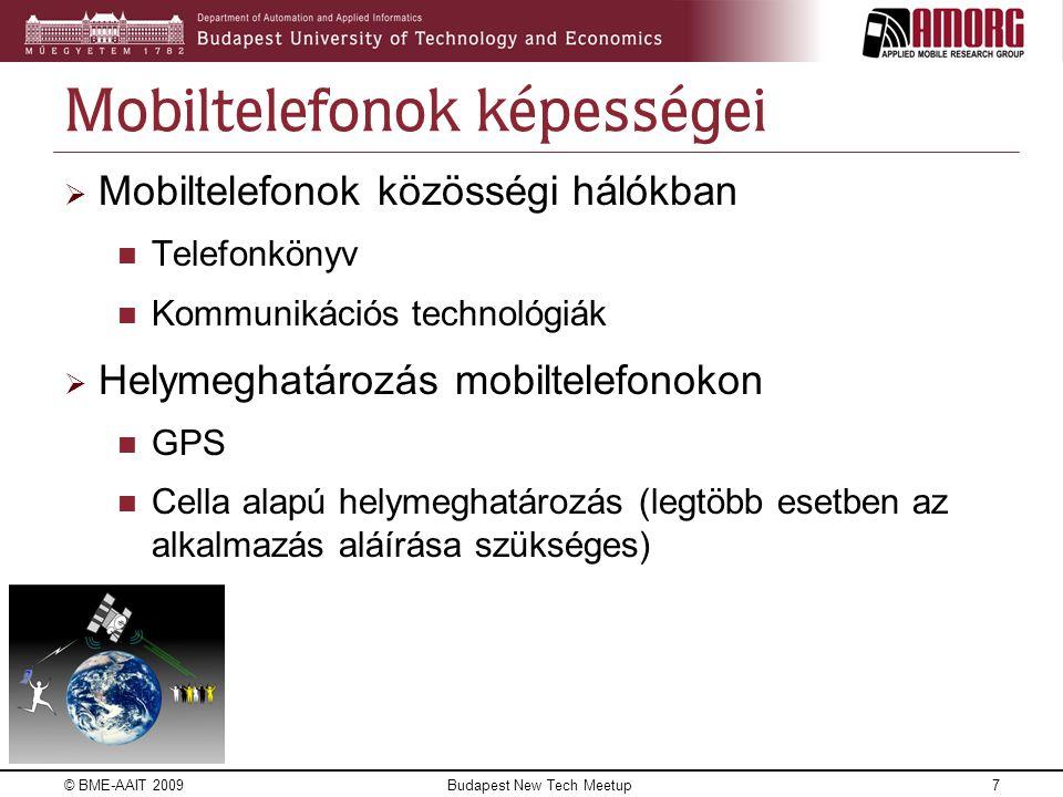 Mobiltelefonok képességei
