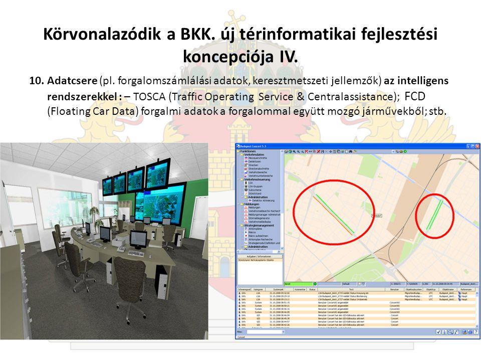 Körvonalazódik a BKK. új térinformatikai fejlesztési koncepciója IV.