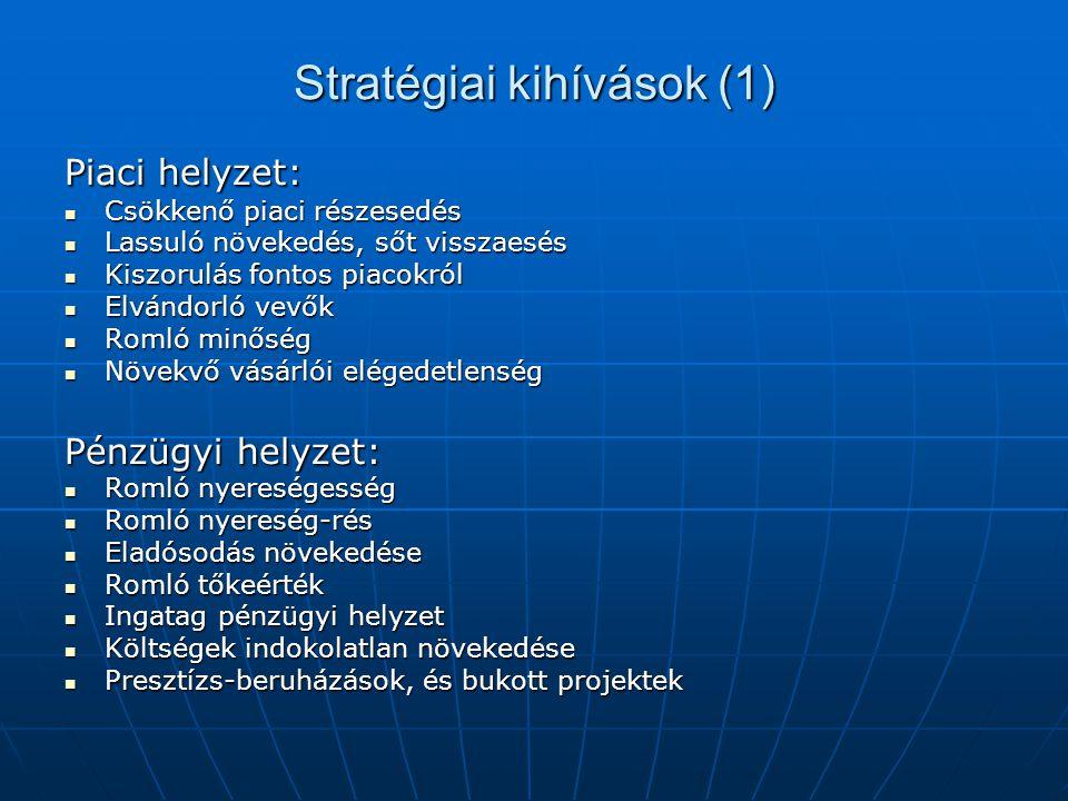 Stratégiai kihívások (1)