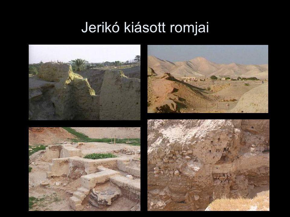 Jerikó kiásott romjai
