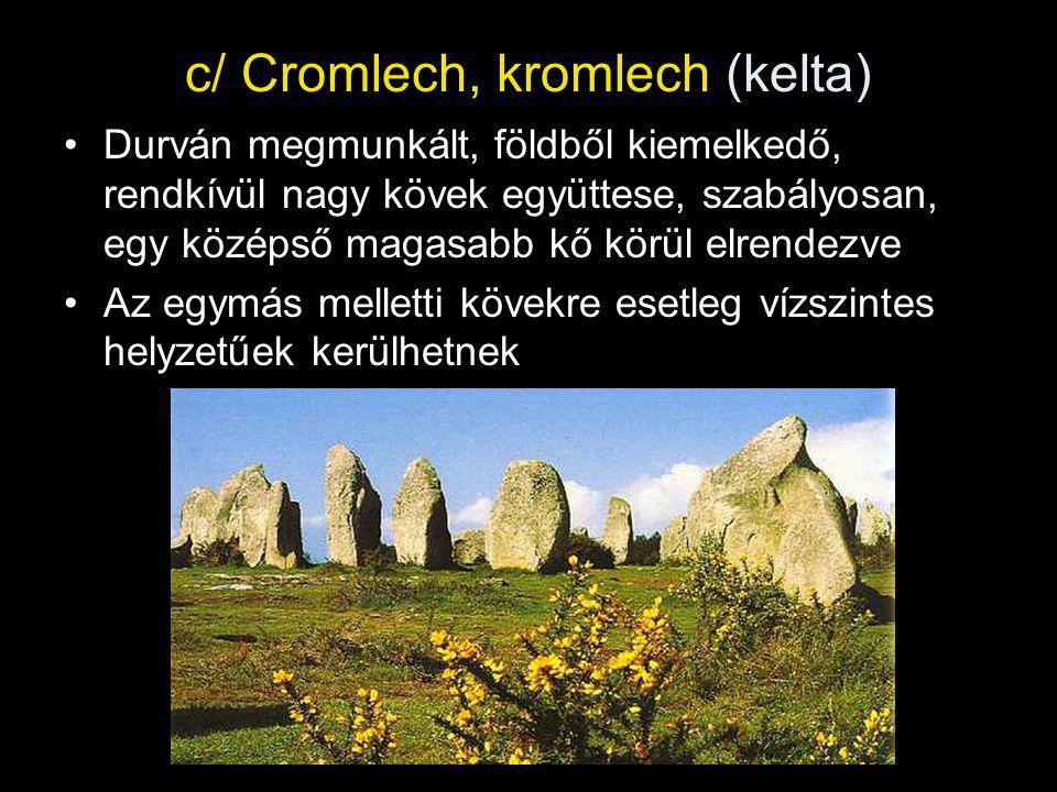 c/ Cromlech, kromlech (kelta)