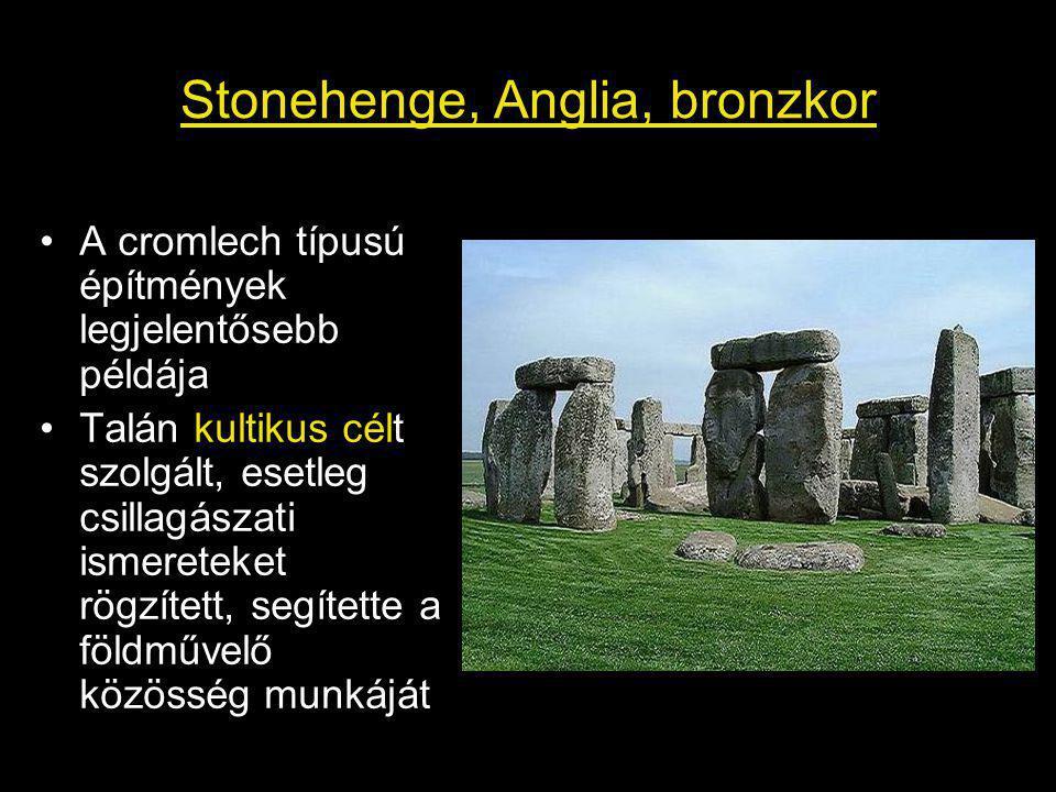 Stonehenge, Anglia, bronzkor
