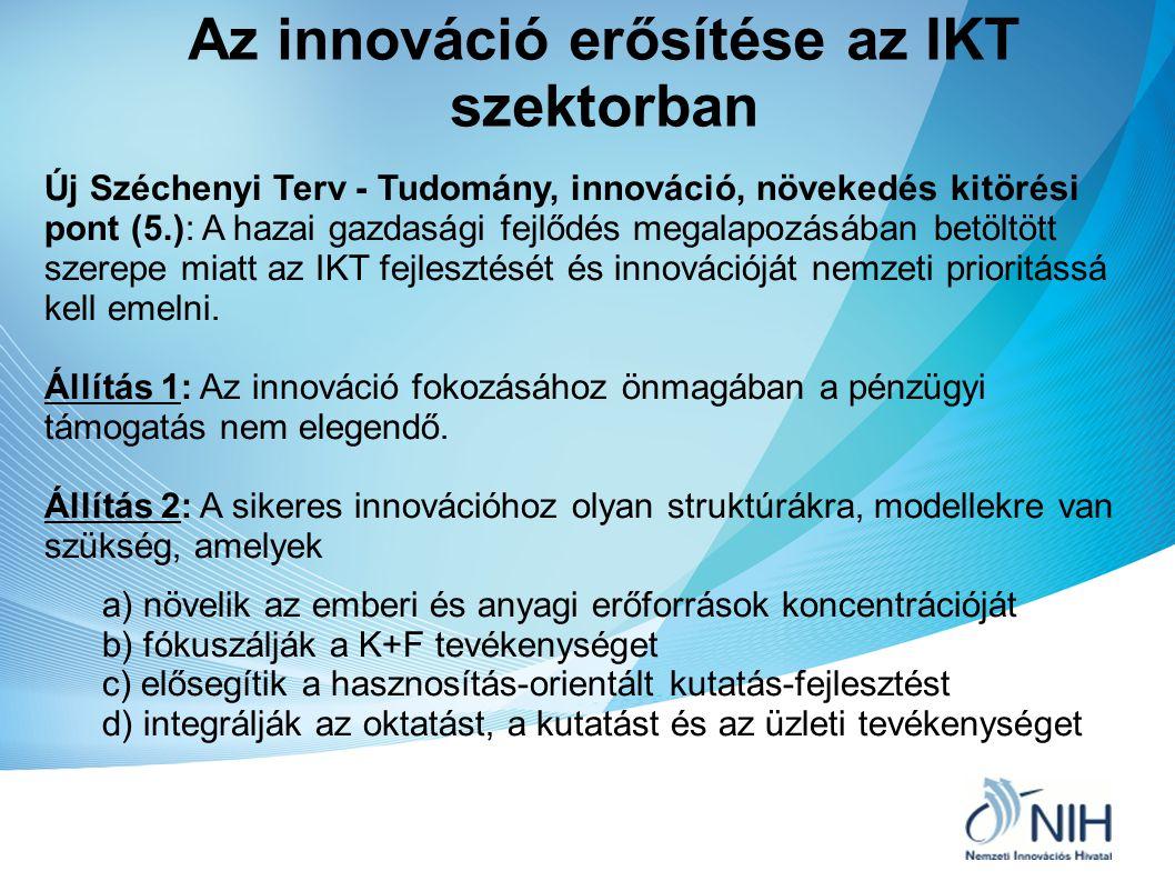 Az innováció erősítése az IKT szektorban