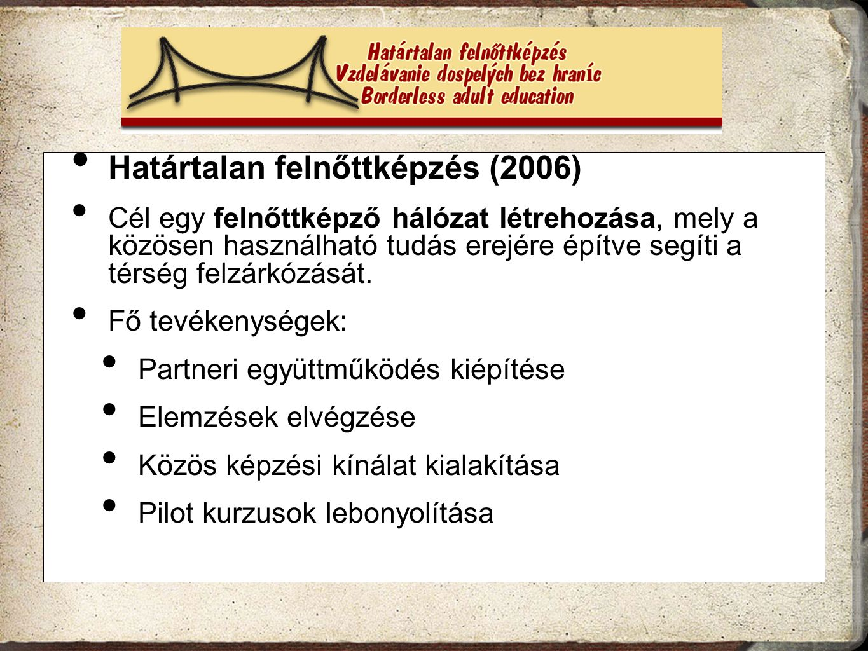 Határtalan felnőttképzés (2006)