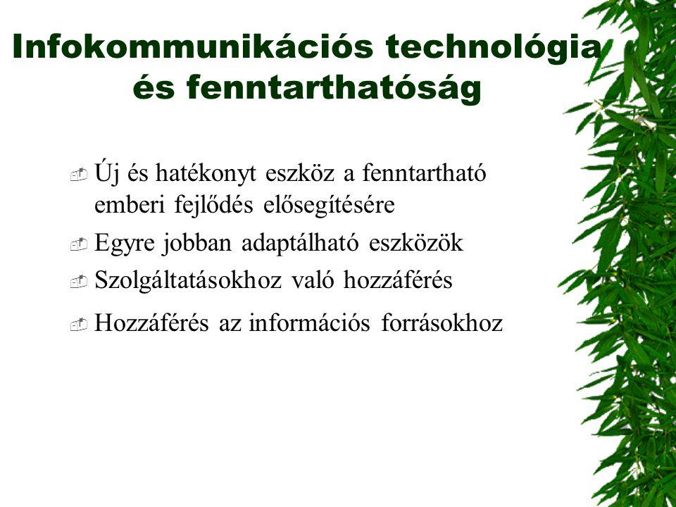 Infokommunikációs technológia és fenntarthatóság