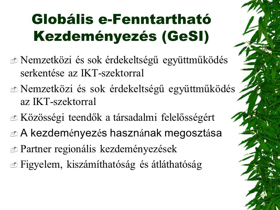 Globális e-Fenntartható Kezdeményezés (GeSI)